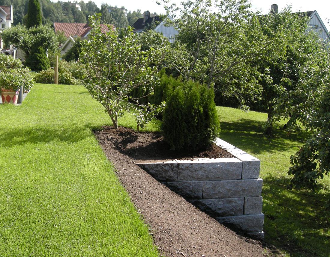 Design av hage i Oslo